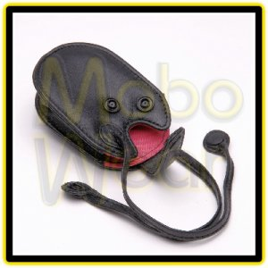 Black & Pink Universal Cell Phone/MP3/Earphones/Bluetooth/Keys Mini Purse Pouch Carrying Case