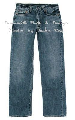 MENS LUCKY BRAND STRAIGHT-LEG TRUCKER JEAN 34 REGULAR
