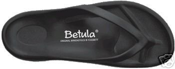 BETULA BIRKENSTOCK #1 WAVE THONG SANDAL WATERPROOF Black 12