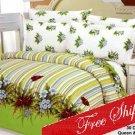 Doga Tropical Oasis Garden Flowers Duvet Bedding Set KING