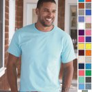 5250 Hanes Men's Basic Tagless Tee Jersey Short Sleeve T-Shirt S-4XL-29 COLORS!