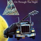 DEF LEPPARD ON THROUGH THE NIGHT CLOTH FABRIC POSTER FLAG TAPESTRY-RARE-NEW!