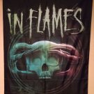IN FLAMES BATTLES 29X43 CD COVER Jesper Strömblad Cloth Fabric Poster Flag-New!