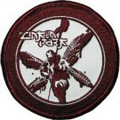 RARE 2002 Linkin Park Blood Red Soldier Embroidered Sew/Iron-On Patch Badge-New!