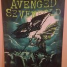 """AVENGED SEVENFOLD A7X CEMETARY 29""""X43"""" Cloth Fabric Poster Flag Tapestry-New!"""