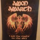 "AMON AMARTH BURNING EAGLE 29""X43"" Cloth Fabric Poster Wall Flag Tapestry-New!!"