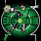 "DC COMICS GREEN LANTERN IN ACTION 29""X40"" Cloth Poster Flag Tapestry-New!"