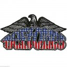 Deftones Eagle Red White Blue Patriotic Chi Cheng Sew/Iron-On Patch Badge-New!!