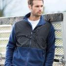 SIERRA PACIFIC Adult Men's Full-Zip Nylon and Fleece Jacket Coat 3071-New!!