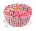 Strawberry Sweet Solid Bubblebath Cupcake