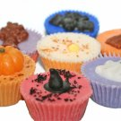 Jumbo Fall/Halloween Decorated Wax Tarts