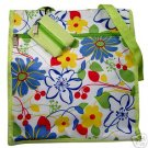 Tropical Lime Green Island Floral Purse Handbag