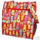 Cute and Fun Red Flip Flop Diaper Bag Beach Bag Tote Purse