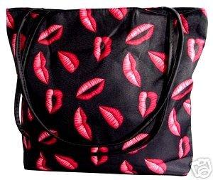 Sexy Consultant Pink Hot Lips Purse Handbag