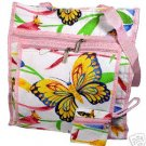Sweet Pink Butterfly Purse Diaper Bag Tote