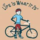 Biker Flat Tire