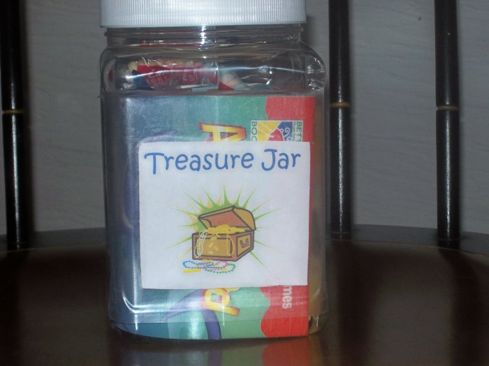 Treasure Jars For Kids