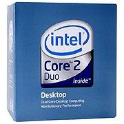 Intel Core 2 Duo E6550 Process 2.33GHZ