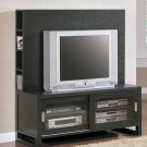 ASIAN FLAIR ESPRESSO PLASMA TV PANEL STAND CABINET UNIT