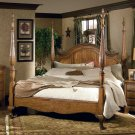 HERITAGE MASTER BEDROOM KING SIZE POSTER BED FURNITURE