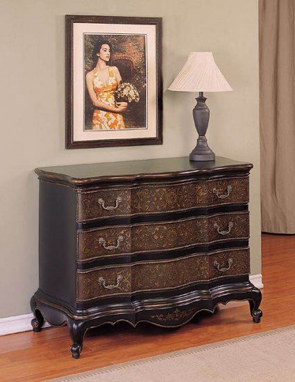 MASTERPIECE HALL CHEST CABINET ACCENT CONSOLE FURNITURE Powell