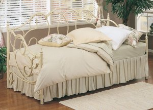 SARASOTA MARBLE VANILLA DAYBED TWIN SIZE DAY BED Powell Furniture