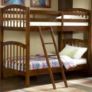 CASUAL TEEN TRENDS TWIN SIZE BUNKBED KIDS ROOM BUNK BED