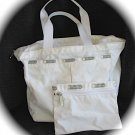 LESPORTSAC Hobo Purse White New NWOT