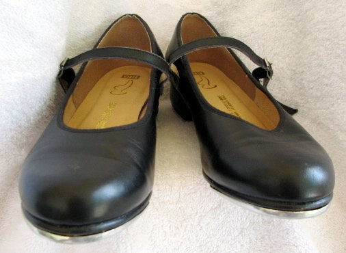 BLOCH Mary Jane Tap Shoes Ladies 8