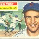 Washington Nationals Eddie Yost 1956 Topps # 128 EX