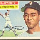 CHICAGO WHITE SOX LUIS APARICIO ROOKIE CARD 1956 TOPPS #292 vg