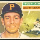 PITTSBURGH PIRATES TOBY ATWELL 1956 TOPPS # 232 EX MT