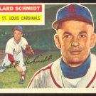 ST LOUIS CARDINALS WILLARD SCHMIDT 1956 TOPPS # 323 EM+