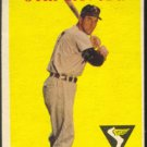 CHICAGO WHITE SOX JIM RIVERA 1958 TOPPS # 11 VG