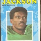 PHILADELPHIA EAGLES HAROLD JACKSON 1971 TOPPS PINUP # 3