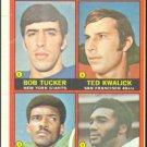 71 NFC RECEIVING LDRS 1972 TOPPS # 6 VG GIANTS SKINS NINERS EAGLES