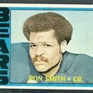 CHICAGO BEARS RON SMITH 1972 TOPPS # 64 VG