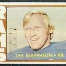 LOS ANGELES RAMS LES JOSEPHSON 1972 TOPPS # 247 VG
