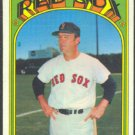 BOSTON RED SOX EDDIE KASKO 1972 TOPPS # 218 VG