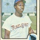 TEXAS RANGERS LENNY RANDLE 1973 TOPPS # 378 G