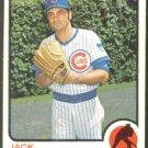 Chicago Cubs Jack Aker 1973 Topps Baseball Card 262 ex
