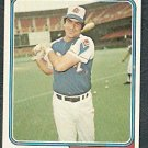 Atlanta Braves Frank Tepedino 1974 Topps Baseball Card 526 ex