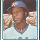 CHICAGO CUBS RAY BURRIS 1974 TOPPS # 161 EX