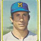 MILWAUKEE BREWERS KEN BERRY 1974 TOPPS # 163 G