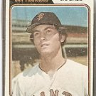 SAN FRANCISCO GIANTS MIKE PHILLIPS 1974 TOPPS # 533 G