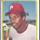 PHILADELPHIA PHILLIES DAVE CASH 1974 TOPPS # 198 EX/EX MT