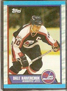 WINNIPEG JETS DALE HAWERCHUK 1989 TOPPS # 122