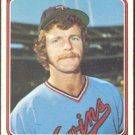 MINNESOTA TWINS BILL CAMPBELL 1974 TOPPS # 26 VG+/EX