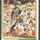 MILWAUKEE BREWERS JIM SLATON 1974 TOPPS # 371 G