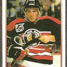 CHICAGO BLACKHAWKS JEREMY ROENICK 1991/92 OPC PREMIER # 52
